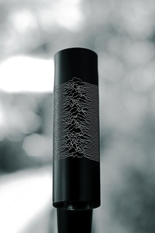 Cool print of Joy Division on the head tube