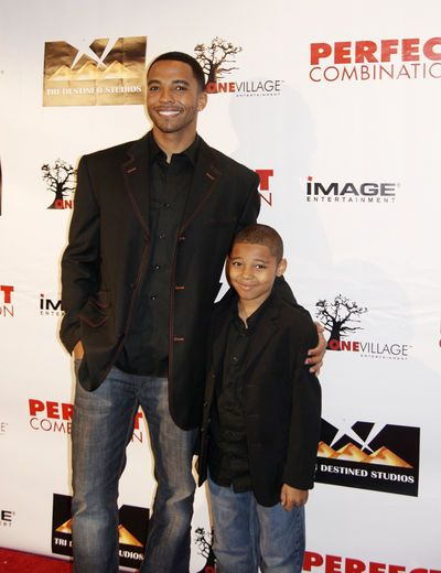 Daddy Dearest Christian Keyes and Christian Jr