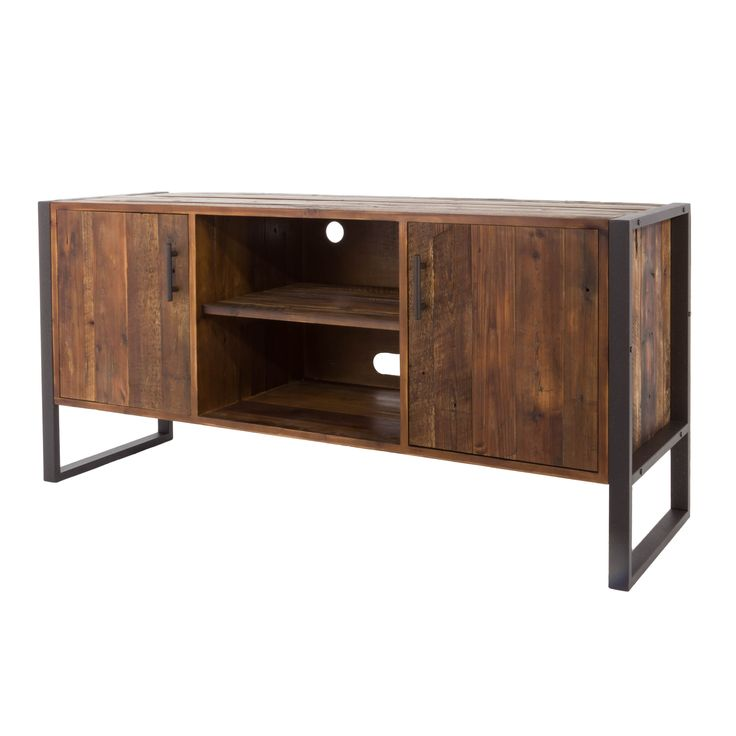 25 Best Ideas About Reclaimed Wood Tv Stand On Pinterest