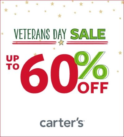 Veterans Day Sale Up to 60% Off