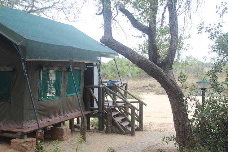 Tamboti Tented Camp in Kruger National Park South Africa