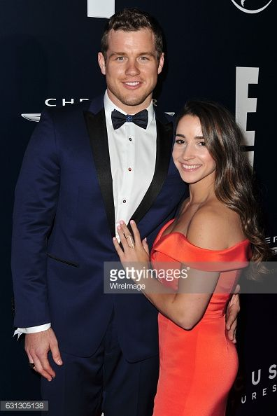 BEVERLY HILLS, CA - JANUARY 08: Aly Raisman and Colton Underwood... #bogoby: BEVERLY HILLS, CA - JANUARY 08: Aly Raisman and… #bogoby