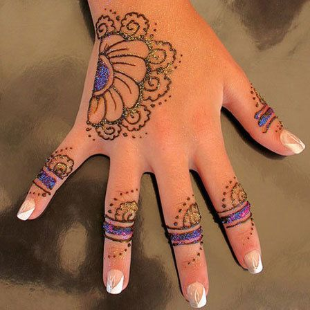 Kids will never have the patience to sit through an elaborate design. So whats the solution? Try some of these mehandi designs for kids!