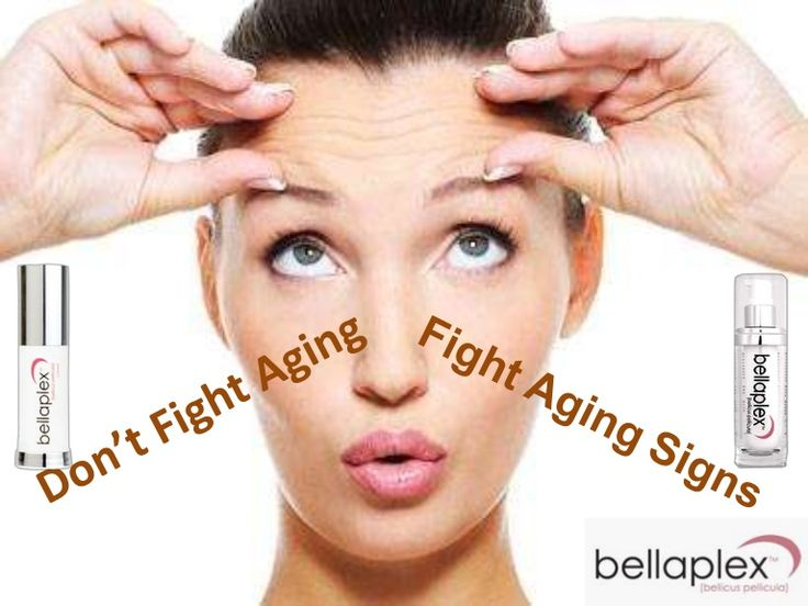 Don't Fight Aging—Fight Aging Signs.