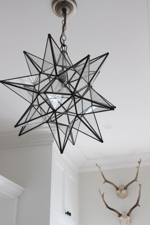 Melinda Hartwright Interiors: Moravian Star Bronze. Lighting