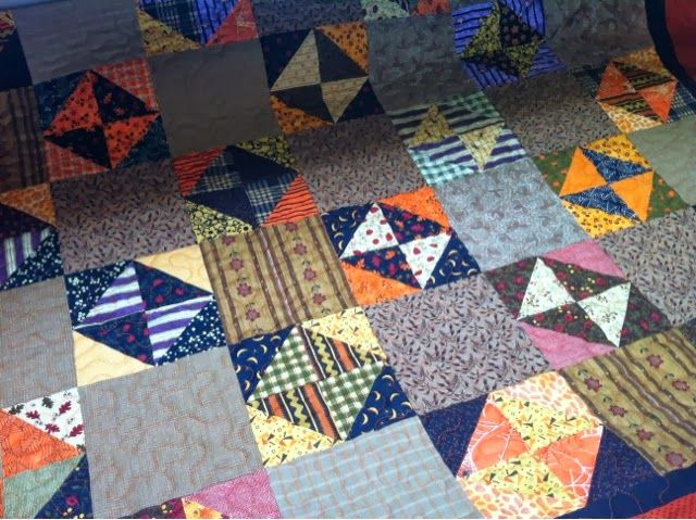 26 best BROKEN DISHES QUILT images on Pinterest   Projects ... : broken dishes quilt pattern free - Adamdwight.com