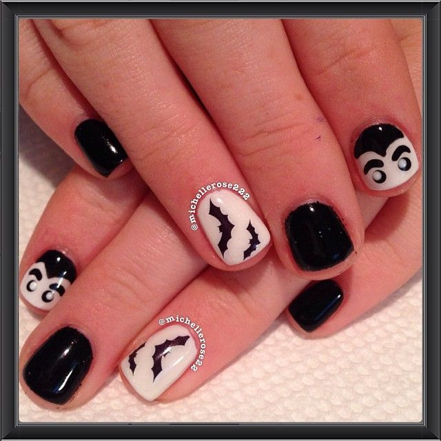 77 Best Images About Halloween Nail Designs On Pinterest
