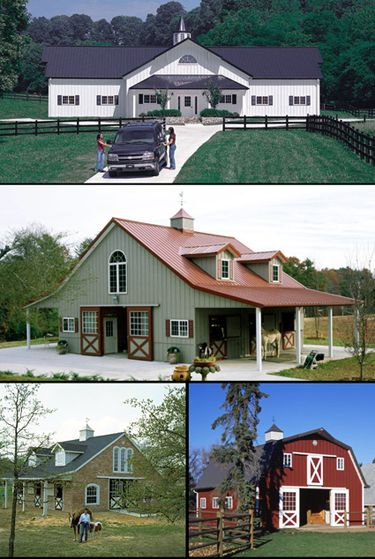 Morton building horse barn designs and horse barns on for Morton building designs