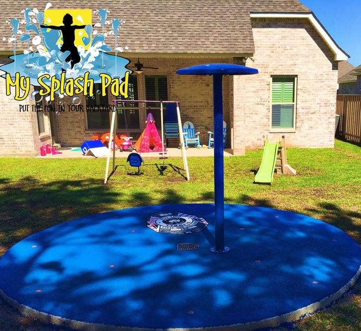 Our 2016 Give Back Residential Backyard Splash Pad in ...