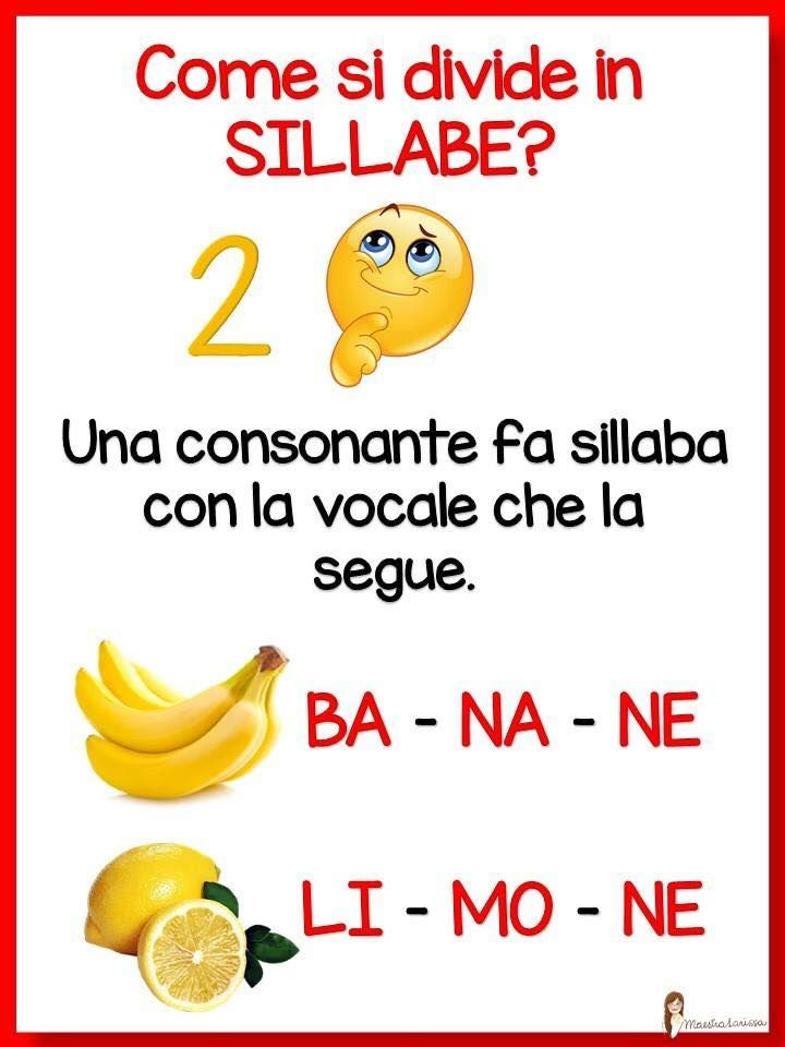 DIVIDERE IN SILLABE 2