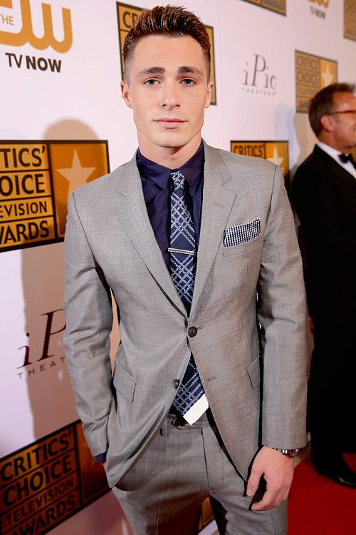 Colton Haynes - Critics' Choice TV Awards 2014