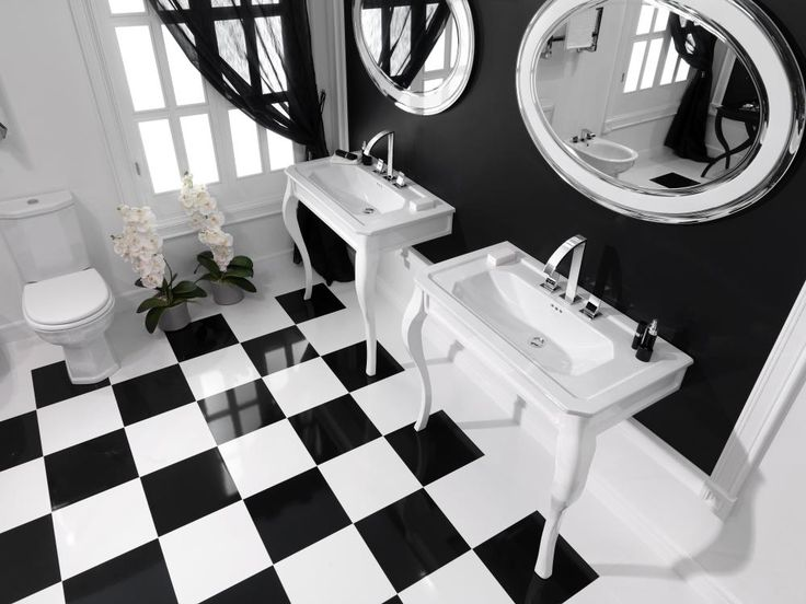 minimalism and purity of black and white design in imagine bathroom collection by noken