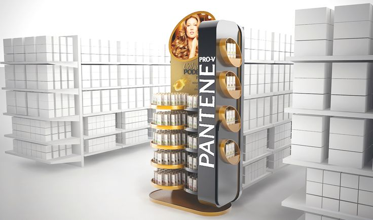 Pantene Point of Sale materials