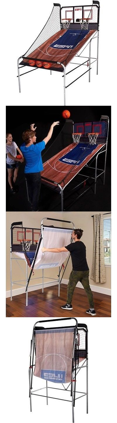 Other Indoor Games 36278: Espn 2-Player Basketball Game With Authentic Pc Backboard -> BUY IT NOW ONLY: $175.79 on eBay!
