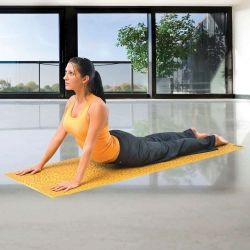 Premium Yoga Sticky Mat - These slip-resistant mats offer a secure adhesive, textured surface and firm, cushioned support. Lightweight and extremely durable, they are ideal for yoga as well as stretching and Pilates. Wipe clean with a damp cloth; roll for easy storage. Available in a variety of colors. from $19.95