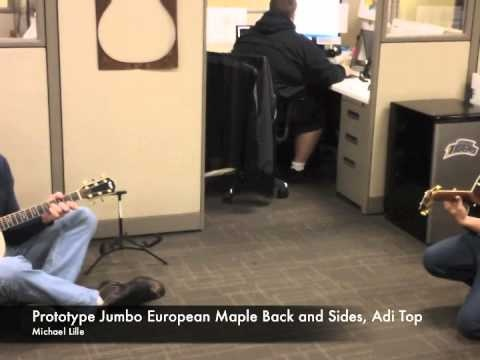 Taylor Guitars Afternoon Jam,...aaaahh yeeaa! (Taylor Guitar sales reps in the office)