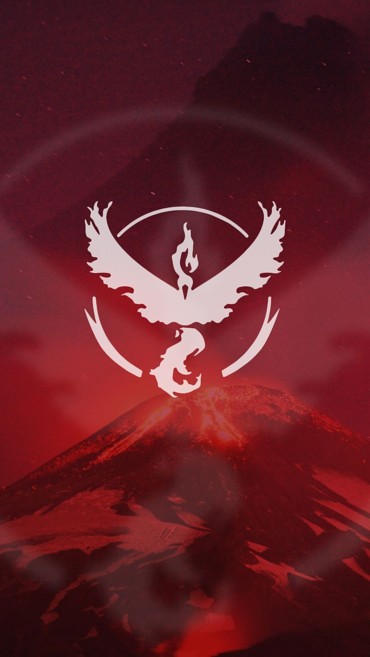 Pokemon Go Team Valor Red Wallpaper
