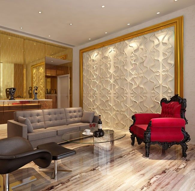 12 best Decorative 3D Walls images on Pinterest 3d wall panels - contemporary wall paneling