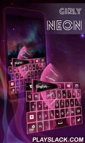 """Girly Neon Keyboard  Android App - playslack.com ,  Goed nieuws dames! Onze zeer getalenteerde ontwerpers aan je gedacht en creëerde een nieuw thema : girly NEON TOETSENBORD ! DOWNLOAD Girly Neon Keyboard NU en geef uw smartphone scherm een meer vrouwelijke uitstraling !- Om te installeren , volg gewoon de 3 stappen : open na het downloaden , drukt u op """"Instellen als Active Theme"""" en selecteer het thema van de volgende pagina !- De verbazingwekkende HD screenshots voegden wij zullen u laten…"""