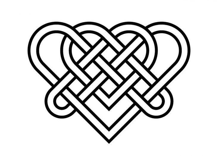 Тест с кельтскими узлами: внутренняя сила