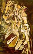 Nude Descending a Staircase, No.2  by Marcel Duchamp