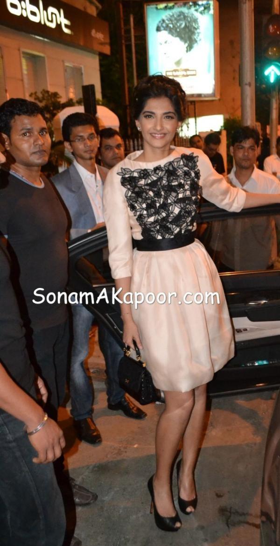 Sonam Kapoor in Christian Dior