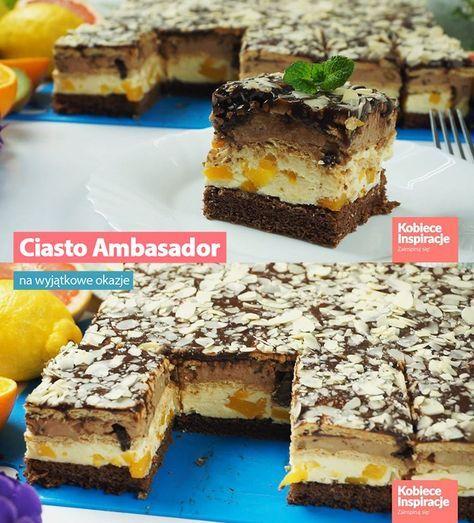 Ciasto Ambasador - na wyjątkowe okazje!
