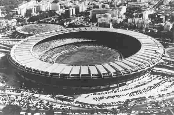 El Estadio Maracaná de Río de Janeiro