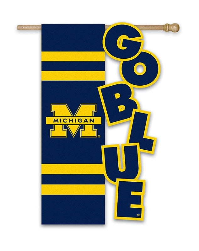 University Of Michigan Garden Flag...have