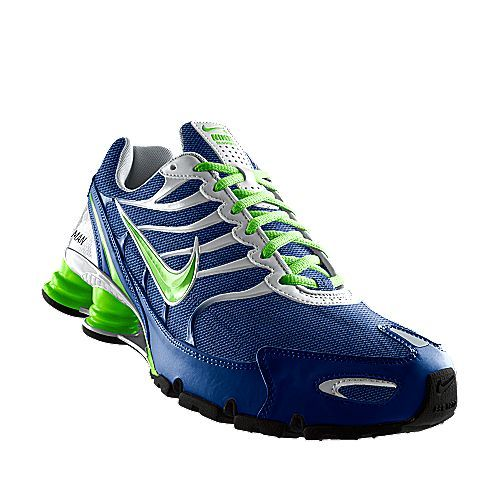 I designed this at NIKEiD Seahawks colors.