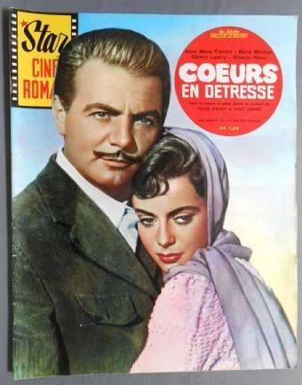 Anna Maria Ferrero, Star Cine Roman magazine cover (France) 1 July 1961