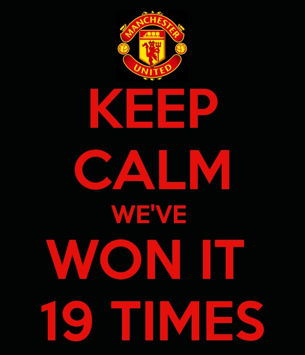 Keep Calm Man Utd