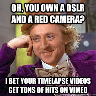 Condescending Wonka is a film guy