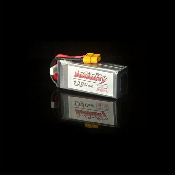 Isi ulang Baterai Lipo Untuk Infinity 4 S 14.8 V 1300 mAh Graphene 70C LiPo Baterai XT60 Dukungan 15C Meningkatkan Biaya RC Quadcopter