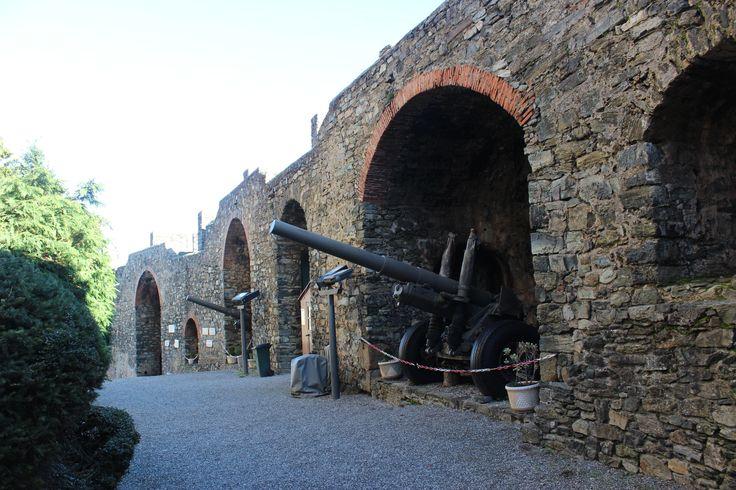 Within Braganca Castle walls