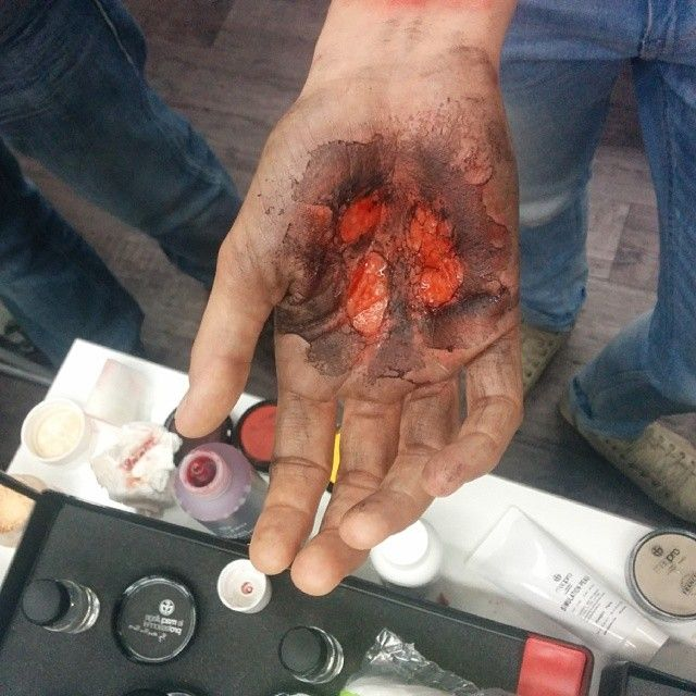 #ShareIG Burn by our awesome guest Alain Brunner. #burned #burn #sfx #makeupartist #alainbrunner #maqpro