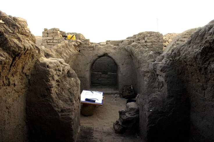 Archaeologists have discovered a tomb in Egypt that would have had a pyramid at its entrance and held the sarcophagus of a scribe named Horemheb.