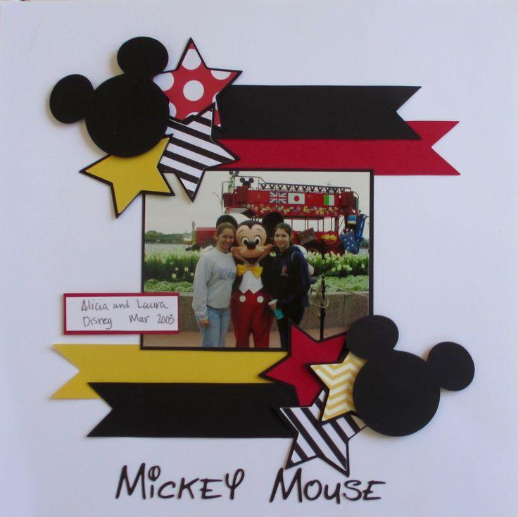 Mickey+Mouse - Scrapbook.com