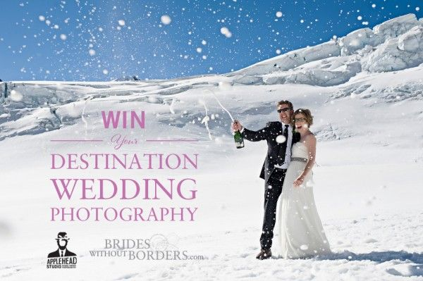 WIN Your Destination Wedding Photography via Brides Without Borders & Applehead Studio Photography!!
