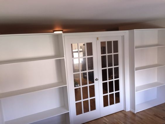 Wall 2 Wall Ny Bookcase Wall Room Divider Bookcase
