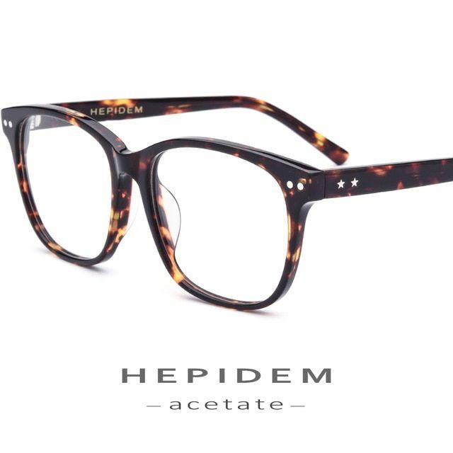 Acetate Optical Glasses Frame Men Fashion Prescription Spectacles Eyeglasses Women Brand Designer Overs Mens Glasses Frames Eyeglasses For Women Eyewear Frames