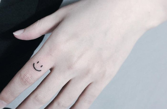 The Smiley Face - his is a constant reminder to never worry and always be happy!