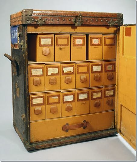 a shoe trunk - a perfect addition to any closet organiser!