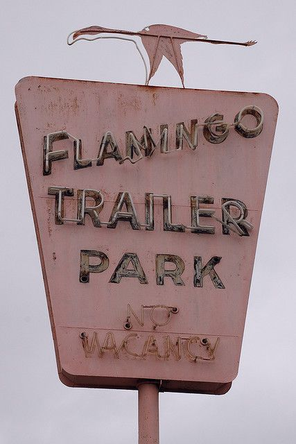 Flamingo Trailer Park by So Cal Metro, via Flickr
