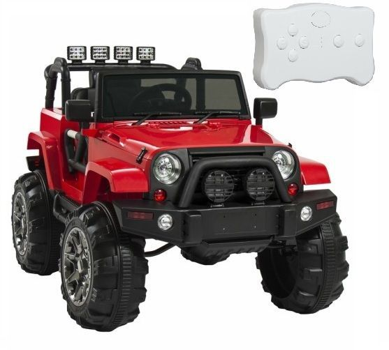 12V Ride On Car Truck Kids Battery Powered Remote Control Outdoor Jeep Toy Red #Unbranded