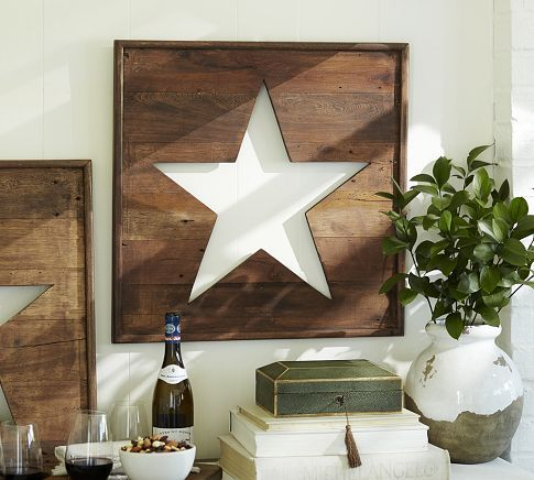 star sign from Pottery Barn but can try it as a DIY