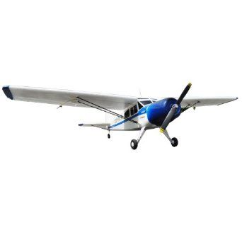 EasySky Yak-12 4-Channel PNP EPO RC Airplane, 950mm, White/Blue  High Quality Made from durable EPO Foam Fun for pilots of all skill levels Brushless Power System $102.43