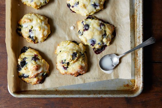 Legendary Blueberry Biscuits, a recipe on Food52