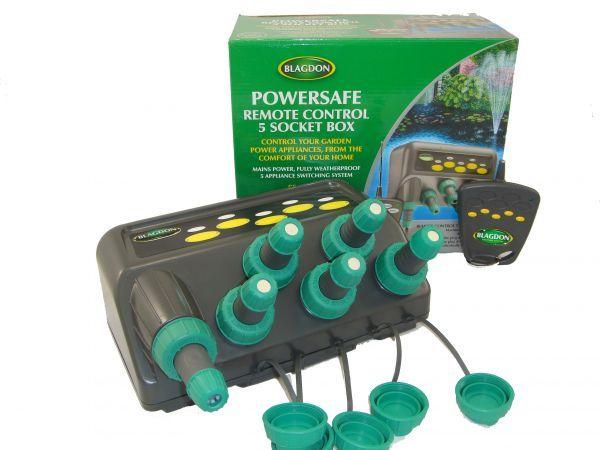 Blagdon Powersafe 5 way Remote Box