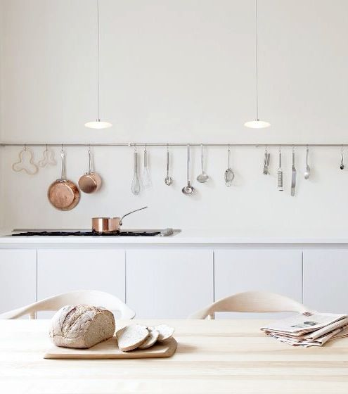 Scandinavian minimal kitchen